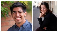 Daniel Castaneda and Vanessa Madrigal-Lauchland Appointed as Marchand Public Engagement Interns