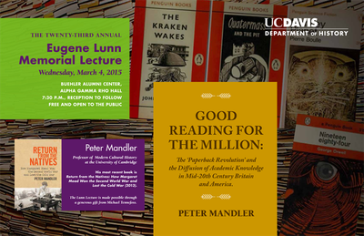 mandler Lunn Lecture poster